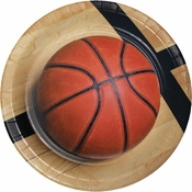 Basketball Dinner Plates 96 ct