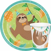 Sloth Party Supplies