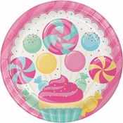 Candy Bouquet Dinner Plates 96 ct