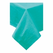 Teal Cellutex Paper Tablecloths are sold in quantities of 1 / pkg, 25 pkgs / case