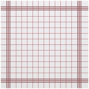 "15.5"" x 15.5"" FashnPoint Red Plaid Dinner Napkins Flat Pack 750 ct"