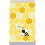 Bumblebee Baby Shower Paper Treat Bags 120 ct