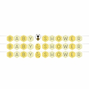 Bumblebee Baby Shower Banners 12 ct