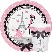 Paris Party Tableware