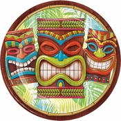 Tiki Time Dinner Plates 96 ct