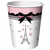 Paris Party 9 oz Cups 96 ct