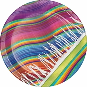 Serape Dinner Plates 96 ct