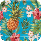 Aloha Square Dinner Plates 96 ct