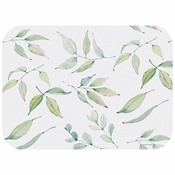 "13.5"" x 18.75"" Watercolor Leaves Paper Traymats 1000 ct"
