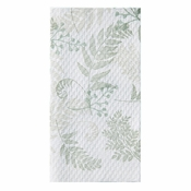 Natures Greens Earth Wise 1,000 ct Guest Towel sold in 8 pkgs of 125