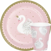 Stylish Swan Party Supplies