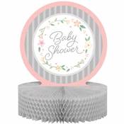 Country Floral Baby Shower Centerpieces 6 ct