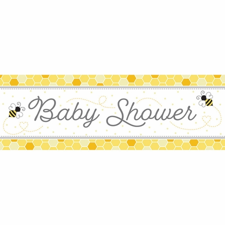 Bumblebee Baby Giant Party Banners 6 ct