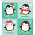 Holiday Penguins Favor Bags 120 ct