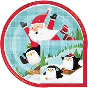 Santa and Penguins Party Supplies