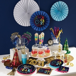 New Year Countdown Party Supplies