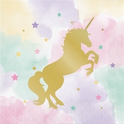 Sparkle Unicorn Luncheon Napkins 192 ct