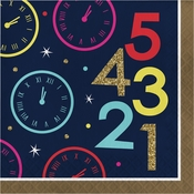 New Year Countdown Luncheon Napkins 192 ct