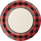 Buffalo Plaid Banquet Plates 96 ct