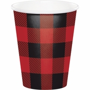 Buffalo Plaid Cups 96 ct