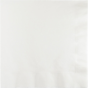 White Beverage Napkins 240 ct