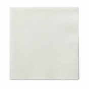 Linen-Like White Beverage Napkins in quantities of 125 / pkg, 8 pkgs / case