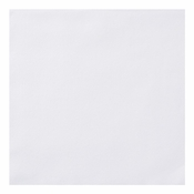 "Linen-Like Unembossed White Dinner Napkins 17"" x 17"" 1/4 Fold in quantities of 75 / pkg, 4 / case"