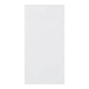 "Linen-Like Unembossed White Dinner Napkins 17"" x 20"" 1/8 Fold in quantities of 75 / pkg, 4 pkgs / case"