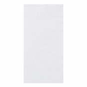 "Linen-Like Unembossed White Dinner Napkins 17"" x 17"" 1/8 Fold in quantities of 75 / pkg, 4 pkgs / case"