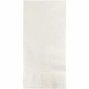 White 2 Ply Dinner Napkins 600 ct