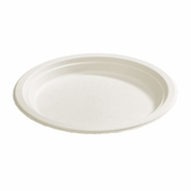 Earth Wise Tree Free 500 ct Heavyweight Dinner Plate sold in 4 pkgs of 125