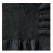 Black Coin Embossed Beverage Napkins in quantities of 250 / pkg, 4 pkgs / case