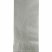 Shimmering Silver 2 Ply Dinner Napkins 600 ct