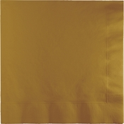 Glittering Gold Luncheon Napkins 3 ply 500 ct