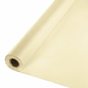 Touch of Color Ivory Banquet Table Roll in quantities of 1 / pkg, 1 pkg / case