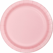 Classic Pink Dinner Plates 96 ct