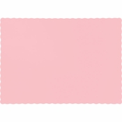 Touch of Color Classic Pink Paper Placemats in quantities of 50 / pkg, 12 pkgs / case