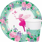 Floral Fairy Sparkle Party Supplies