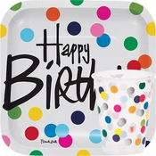 Birthday Dots Party Supplies