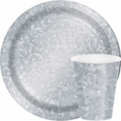 Galvanized Party Supplies