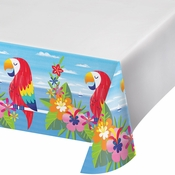 Lush Luau Plastic Tablecloths 12 ct