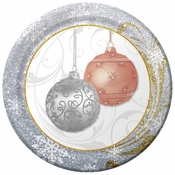 "7"" All That Glitters Dessert Plates 200 ct"