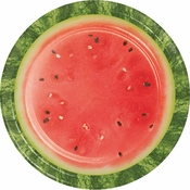 Watermelon Picnic Dinner Plates 96 ct