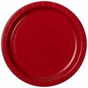 "10"" Red Paper Banquet Plates 300 ct"