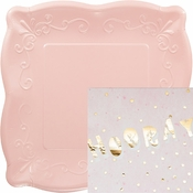 Pink Hooray Party Supplies