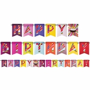 Birthday Cake by French Bull Party Banners 6 ct