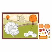 Fall Paper Activity Placemats 96 ct