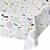 Halloween Paper Activity Tablecloths 12 ct