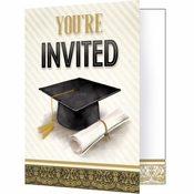 Classic Graduation Invitations 48 ct
