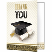 Classic Graduation Thank You Notes 48 ct